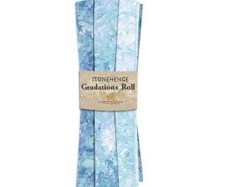Northcott - Stonehenge - Mystic - Midnight - Blue - Fat Quarter Roll
