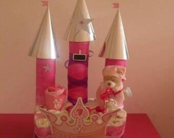 "Layer cake ""Princess Castle"""