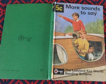 Vintage Ladybird Books - 5C More Sounds to Say