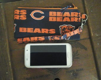 NFL Chicago Bears wristlet