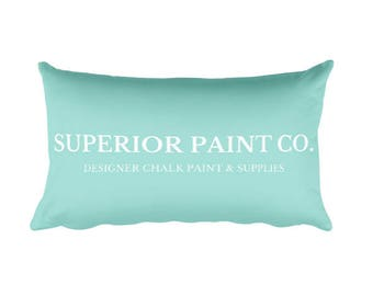 Superior Paint Co. Desiger Rectangular Pillow - 20x12 This pillow is comfortable to hold, and it's the perfect accent piece for any space.