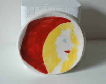 Little Red Riding Hood Ceramic Trinket Dish
