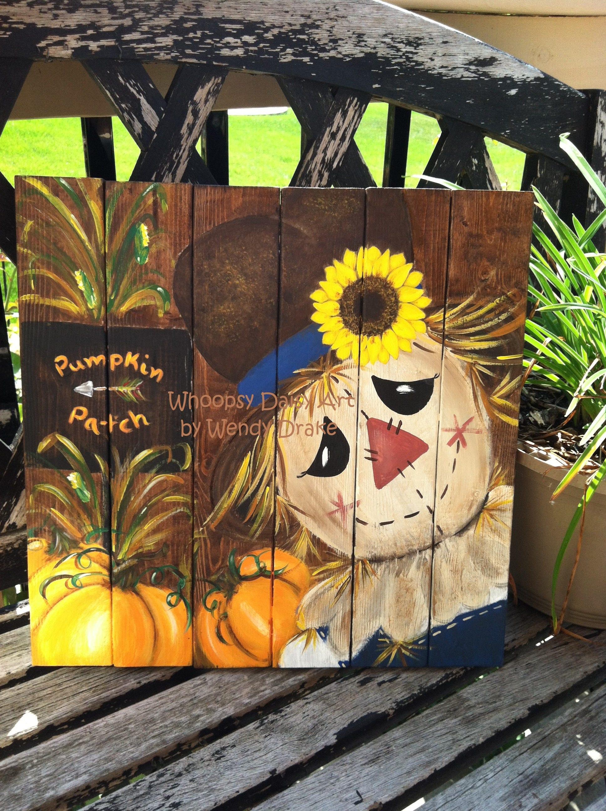Scarecrow Fall Home Decor Pumpkin Fall Home Decor Sunflower