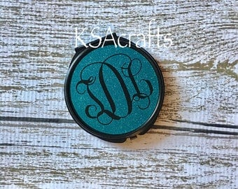Personalized Compact Mirror, Monogrammed Compact Mirror, Compact Mirror