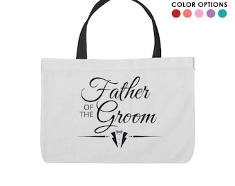 Father of the Groom Inspired Tote Bag!