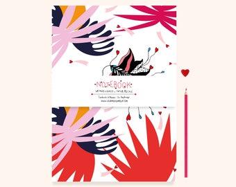 Notebook / Notepad A5 butterflies