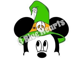Halloween Mickey svg studio dxf pdf jpg png
