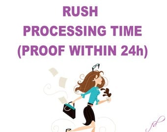 Rush My Order - proof in 24h