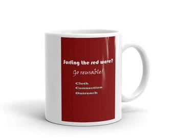 """Seeing Red?"""" Mug"""