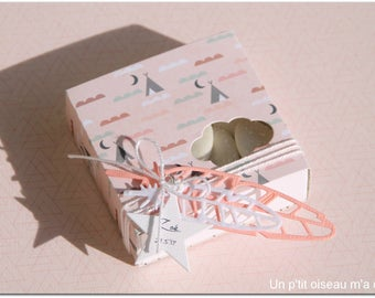 Box for sweets themed teepee
