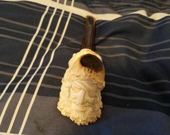 Sms hand carved pirate pipe tobacco