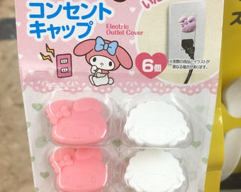 My Melody electric outlet cover, kawaii