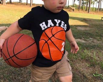 Basketball Birthday Shirt - Boys Birthday - Basketball - Sports Birthday