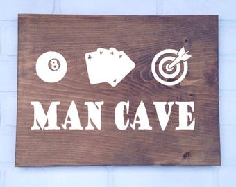 Man Cave Signs- Options available