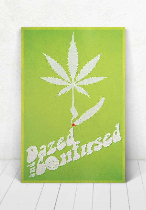 Dazed And Confused Movie Poster - Illustration / Dazed And Confused Movie Poster