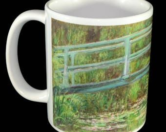 Mug - Claude Monet Japanese Footbridge Mug