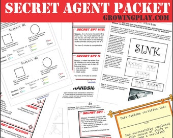Secret Agent Pretend Play