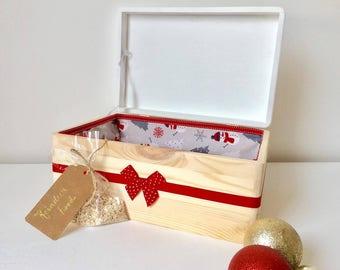 Christmas Eve Box, Luxury Christmas Box, Personalised Christmas Eve Box, Christmas Eve Hamper, Christmas Decoration, Christmas Eve Crate