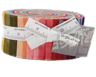 Moda Grunge New Colors Jelly Roll by Basic Grey