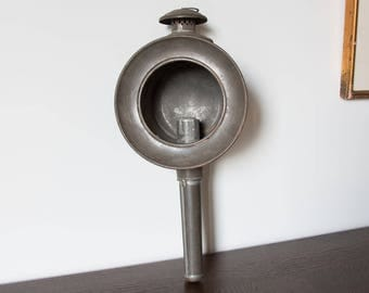 Antique carriage lantern