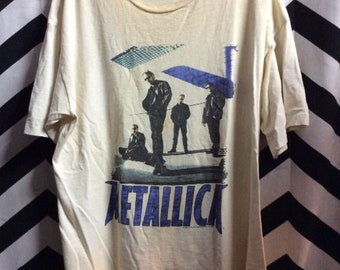 T-shirt 1996 Metallica Band Members Graphic
