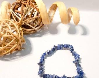 Sodalite bangle elasticated,multi colours,spiritual stone, stretch bangle,stretch bracelet,mood stone,gemstone