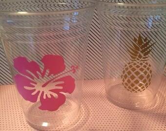 Hawaiian Party Cups