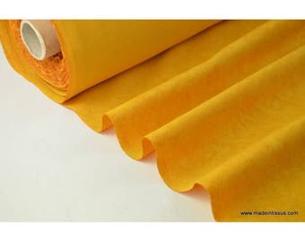 faux plain mustard fabric for tablecloth and decoration. x 1 m