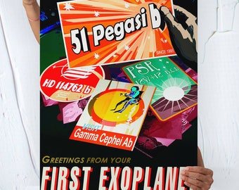 Greetings from your First Exoplanet - POSTER