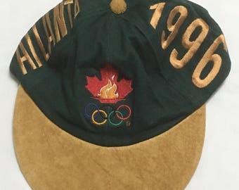 1996 Atlanta Olympics Hat Green