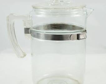 Pyrex Coffee Pot 6 cups #7826