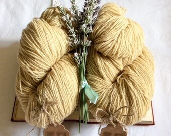Buttercup. 4 ply lambswool.
