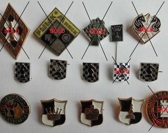 Pins chess, mind game, chess figures,