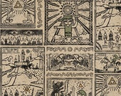 Nintendo Zelda Comic Cotton fabric