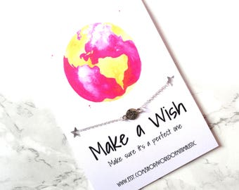 Wanderlust bracelet, make a wish traveler bracelet, minimalist compass bracelet, wanderlust jewelry, traveler jewelry, friendship bracelet