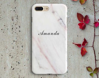 Custom Name Marble Samsung case Personalised Marble Samsung Case Marble Samsung S8 Custom Case  Marble Samsung S7 Name Case S6 S5 Cover