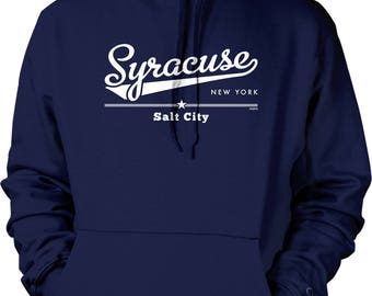 Syracuse, New York, Salt City Hooded Sweatshirt, NOFO_01258