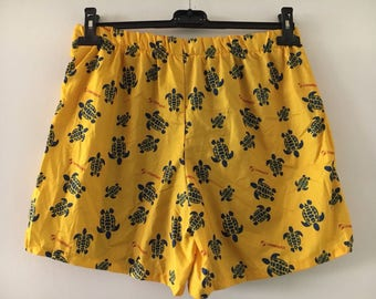 Swimwear Shorts Vintage 90s Lumberjack