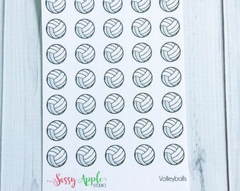 Volleyball Stickers - Sports Stickers