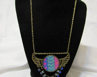 Bronzed Wing Necklace