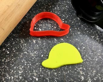 Hard Hat Cookie/Fondant Cutter