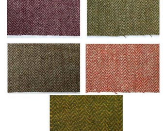 Fishbone herringbone twill wool fabric
