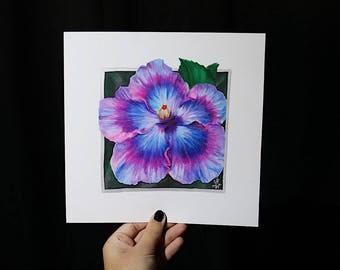 ORIGINAL - Purple Hibiscus