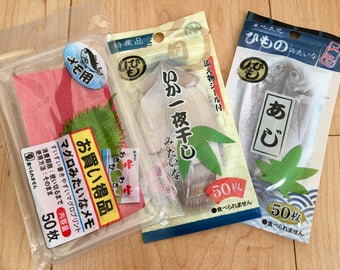 Japanese Fish Memo pads (3 packages)