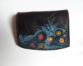coin purse in inner tube recycled ref PM 0541