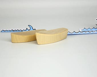 Wooden boats, for the advent calendar, Toys for the bathtub, play boat for children, wooden decorations, wooden toys,