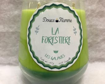 Scented candle - the forest