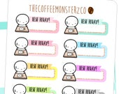 test today emoti labels - emoti planner stickers E164