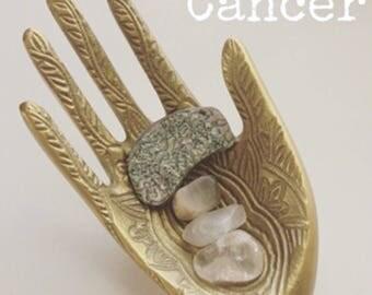 Zodiac crystal pouches medicine bags crystal healing scorpio, cancer, libra, virgo, leo