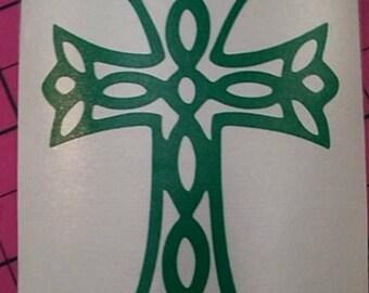 Celtic Cross Decal